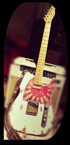 Fender Esquire, Experimental Rock, Telecaster Guitar, Guitar Collection, Farm Yard, Rock Bands, Music Instruments, Cool Stuff, Bass Guitar Case