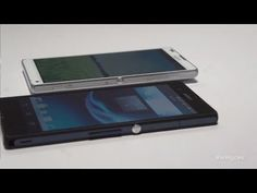 CES 2013: New Sony Xperia™ Z and Xperia™ ZL Phones (First Look)