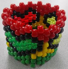 Trio Rasta Hearts Kandi Cuff by Kandirella7 on Etsy, $7.00 Kandi Cuff, Rave Gear, Heart Outline, Glitter Hearts, To Infinity And Beyond, Activities To Do, Easy Crafts, Something To Do, Raves