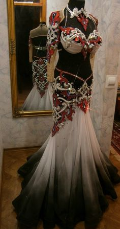 Dance dress. Made by Helen Khuskyvadze workshop.