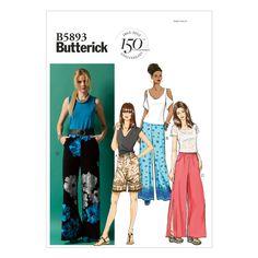 8c45bef4e732a Butterick Misses Pants - B5893 Pretty Patterns