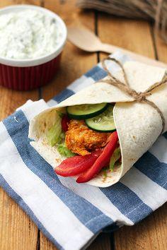 Tortilla – zdrowe twistery a'la KFC