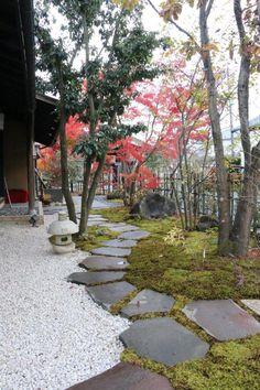 苔庭 五泉市 鬼七様 #japanesegardendesign