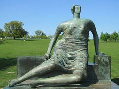 Henry Moore at Yorkshire Sculpture Park.