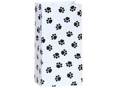 10 Paw Puppy Print Paper Bags Sacks Treat Gift Baby Shower Birthday Parties Cat #nashvillewraps