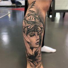 """3,471 Likes, 10 Comments - ⠀⠀⠀⠀⠀⠀⠀⠀TATTOO ARTISTS (@tattoo.artists) on Instagram: """"B&G Tattoo Artwork Artist IG: @martin_wikstroem"""""""