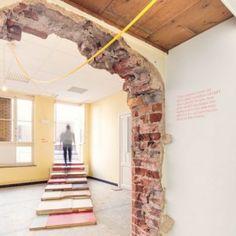 Gordon Matta-Clark meets Infographics. GORGEOUS.  Joseph Grima explores changing ideas of  domesticity for Biennale Interieur exhibition