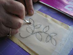 ELLA'S CRAFT CREATIONS: Design Transfer tutorial.