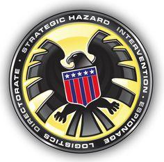SHIELD logo, transparent background