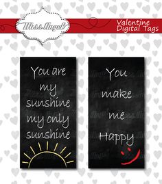 Valentines Day Clipart Tags DIY 2 love mini by MissAngelClipArt, $2.59