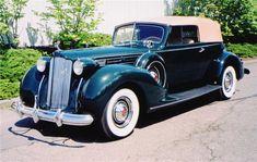 Resultado de imagen de 1938 packard convertible