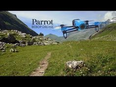 Parrot engineers testing Bebop Drone prototype in the French Alps