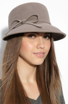 Eric Javits 'Bow' Rabbit Fur Felt Cap available at #Nordstrom