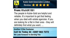 The people in Kubie-Gold are helpful and reliable. It's important to get that feeling...