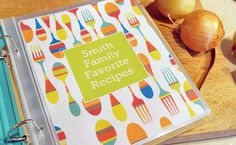 Free Personalized Recipe Book Printable - Pretty My Party - Party Ideas Plenty Cookbook, Kids Cookbook, Cookbook Recipes, Cookbook Ideas, Cookbook Design, Cookie Recipes, Homemade Recipe Books, Homemade Cookbook, Make Your Own Cookbook