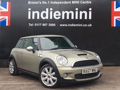 STUNNING MINI COOPER S    Just in this silver Mini Cooper S is an excellent example and comes with full leather seats!   Please see our website www.indiemini.co.uk   Or   Call us on 01179673900  Look forward to hearing from you soon! #minicarsbristol