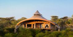 Now that's a tent! Richard Branson's mahali mzuri safari camp in Kenya.