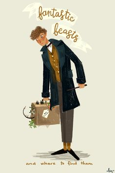 Newt Scamander - Check out my NEW SPECIAL Fantastic Beasts and Where to Find Them board too!!!!