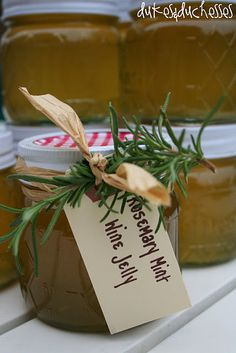 Mint Rosemary Jelly