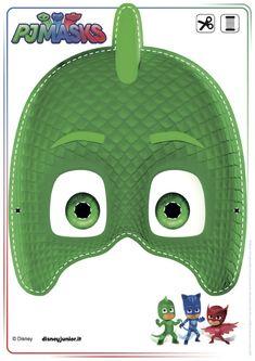 Maschera Geco Pj Masks Printable, Printable Halloween Masks, Free Printables, Pj Masks Birthday Cake, Boy Birthday, Mascaras Pj Masks, Pj Masks Games, Pj Max, Pjmask Party