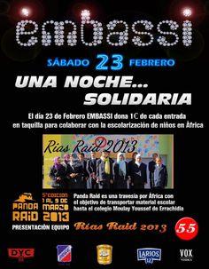 Una noche solidaría (Vía FB Discoteca Embassi)