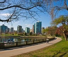 World's Most Beautiful City Parks ...Stanley Park Vancouver ...The temperate rainforest of Stanley Park is almost completely surrounded by water, with both gorgeous skyline views and wild forest of 500,000 cedar, fir and hemlock trees.