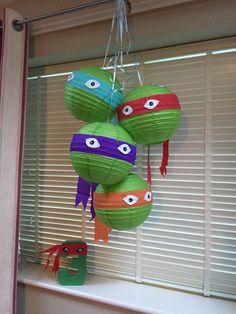 Teenage mutant ninja turtles party decor