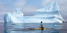 Iceberg viewing in Iceberg Alley – Newfoundland and Labrador – By Land, Boat or Kayak Kayaks, Canoes, Whale Species, Best Fishing Kayak, Bass Fishing, Kayak Equipment, Road Trip, Inflatable Kayak, Newfoundland And Labrador