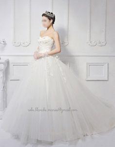 Elégante Robe de mariée princesse NEUVE 36/38/40