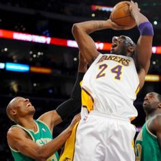 Best NBA rivalry: Lakers vs. Celtics! L.A won this time :)