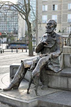 Statue à Bruxelles - Mon chant de vision