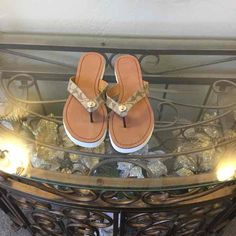 Coach Shelly Sandals US WOMENS SIZE 9M - Mercari: Anyone can buy & sell