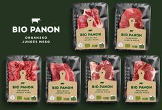 organic meat packaging - Google Search Carnicerias Ideas, Meat Store, Organic Packaging, Meat Packing, Organic Meat, Fresh Meat, Food Packaging Design, Food Design, Raw Food Recipes