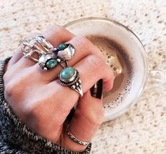 Turquoise ring envy