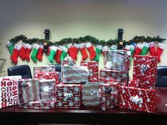 Lots of presents for our Adopted Family! Christmas 2012!
