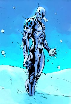 Iceman is the sort of character who could be power level ten or power level 15, depending on his writer. Description from atomicthinktank.com. I searched for this on bing.com/images