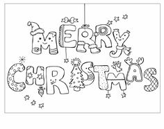 merry christmas greeting card picture coloring 22 - games the sun | games site flash games online free for girls and kids