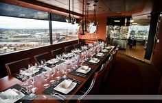 #54. Portland City Grill - The restaurant's 30th-floor view of Portland and the river is a draw.