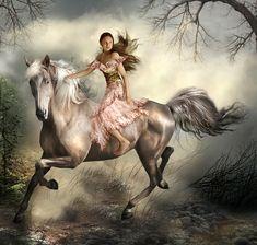 Fantasy =)  cheval