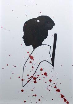 O-Ren Ishii (Kill Bill) by Jordan Monsell