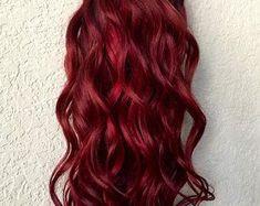 Deep Red Hair Color, Bright Red Hair, Cool Hair Color, Red Burgundy Hair Color, Burgundy Wine, Maroon Hair, Crimson Red Hair, Long Face Haircuts, Wine Hair