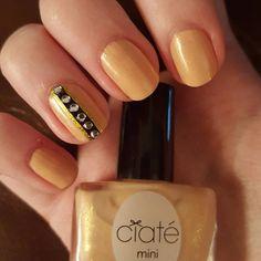 """""""#nailart #ciate #ivoryqueen #nailgems #nails #nailpolish"""""""