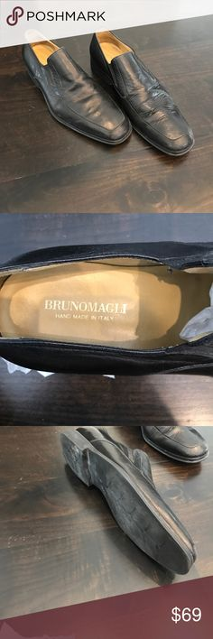 Bruno Magli loafers Great condition. Hand made in Italy. Size 10 Bruno Magli Shoes Loafers & Slip-Ons