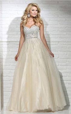 Gorgeous Ball Gown Floor-length Prom Dresses UK