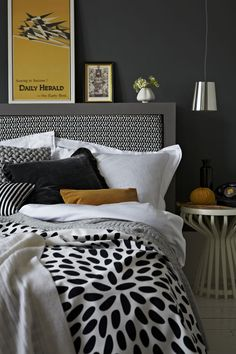 bedroom: not just black and white