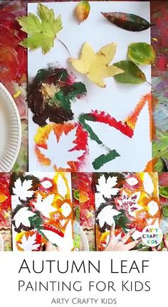 Fall Arts And Crafts, Fall Crafts For Kids, Halloween Crafts For Kids, Projects For Kids, Holiday Crafts, Fall Art Projects, Fall Leaves Crafts, Toddler Thanksgiving Crafts, Harvest Crafts For Kids