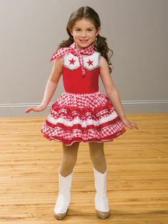 Texas Star - Style 0101 | Revolution Dancewear Children's Dance Recital Costume