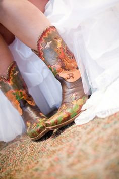 Wedding cowboy boots, or for anytime :)