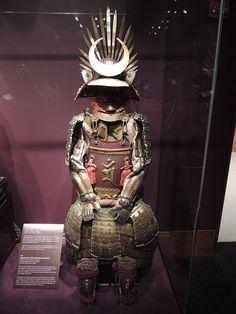 Armor for a high-ranking samurai.