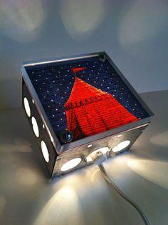 Light Box Night Lights | 41 Coolest Night Lights To Buy Or DIY